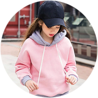 SweatShirts for Girls manufacturers wholesale suppliers India punjab ludhiana