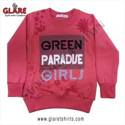 <p>Round Neck Sweatshirt for Girls</p>